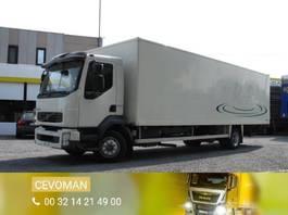 closed box truck Volvo FL6 240 Bakwagen met laadklep euro4 2007