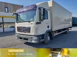 closed box truck MAN TGL 12.220 bakwagen met laadklep euro5 2010