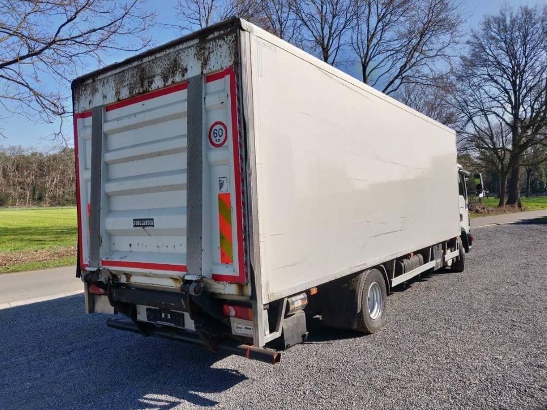 closed box truck > 7.5 t MAN TGL 12.220 bakwagen met laadklep euro5 2010