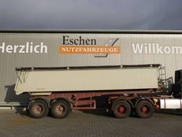 tipper semi trailer Langendorf SKA 18/27, 25m³ Alumulde 2001