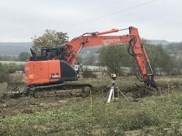 crawler excavator Hitachi ZX135US-6 2017