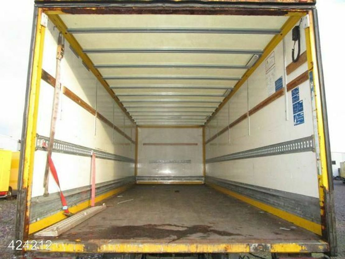 closed box truck > 7.5 t MAN TGL03 TGL 12.240 4x2 BL 2008