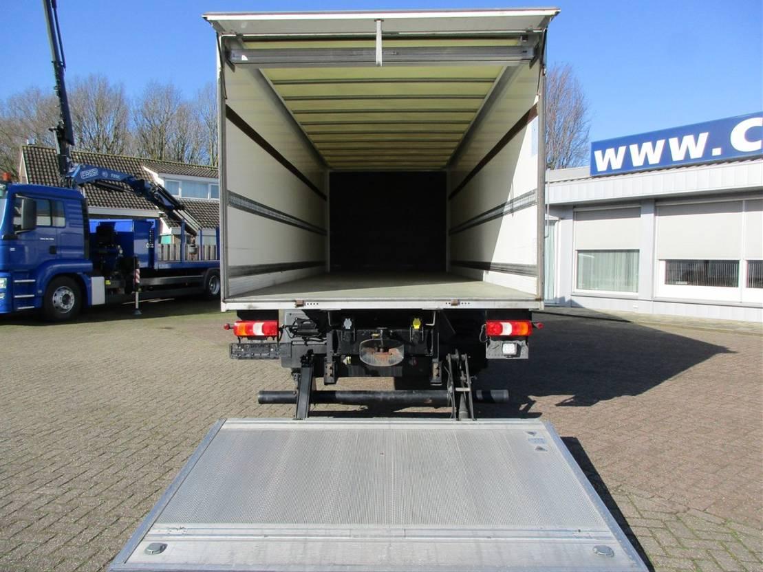 closed box truck > 7.5 t Mercedes-Benz 1227 L Gesloten bak met klep Euro 6 2015