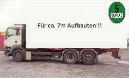 garbage truck MAN TGS 26.320 Schalter 6x2 Lenk Klima E 5 für 7 m 2008