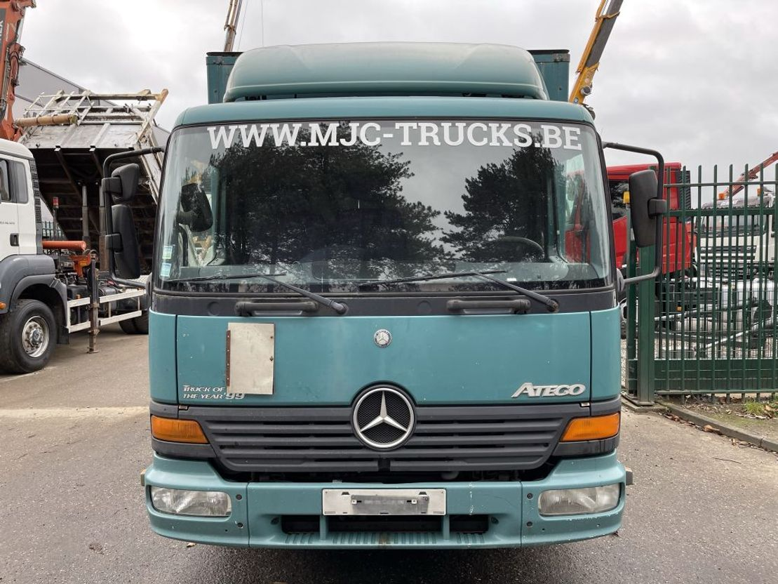 closed box truck > 7.5 t Mercedes-Benz Atego 817 - CLOSED BOX - CAISSE FERMEE - MANUAL 6 - BOITE 6 - AIR SUSPENSION - BE ... 1999