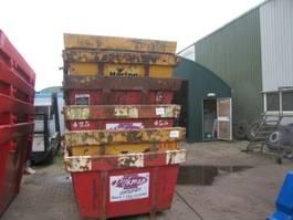 Reststoffcontainer gebruikte containers