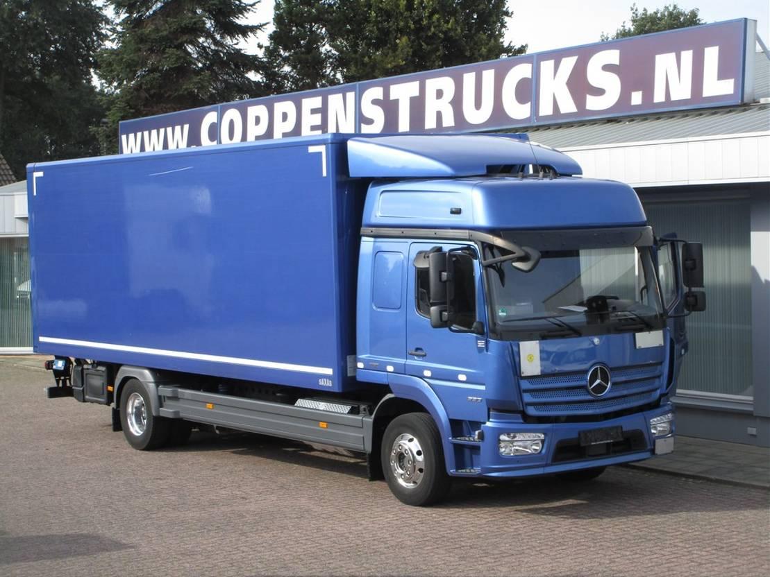 closed box truck > 7.5 t Mercedes-Benz 1530 L Euro 6 2016