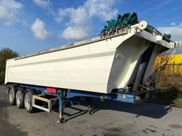 tipper semi trailer MOL ALUMINIUM BOVENSCHUIFZEIL KIPPER - 31m³ - 2006 - 3 ASSEN BPW 2006