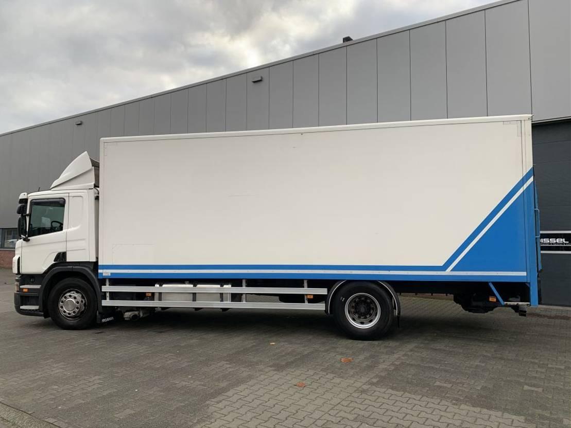 closed box truck > 7.5 t Scania P 230 B 4X2 2008