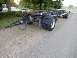 swap body trailer Van Hool R-214 2 As Aanhangwagen T.b.v. Wissellaadbak(ken), WG-48-GH 1991