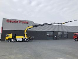 crane truck Volvo FM 8X4 Fassi/1300 28+JIB/kran/kraan/Montagekran/dachdeckerkran 2015