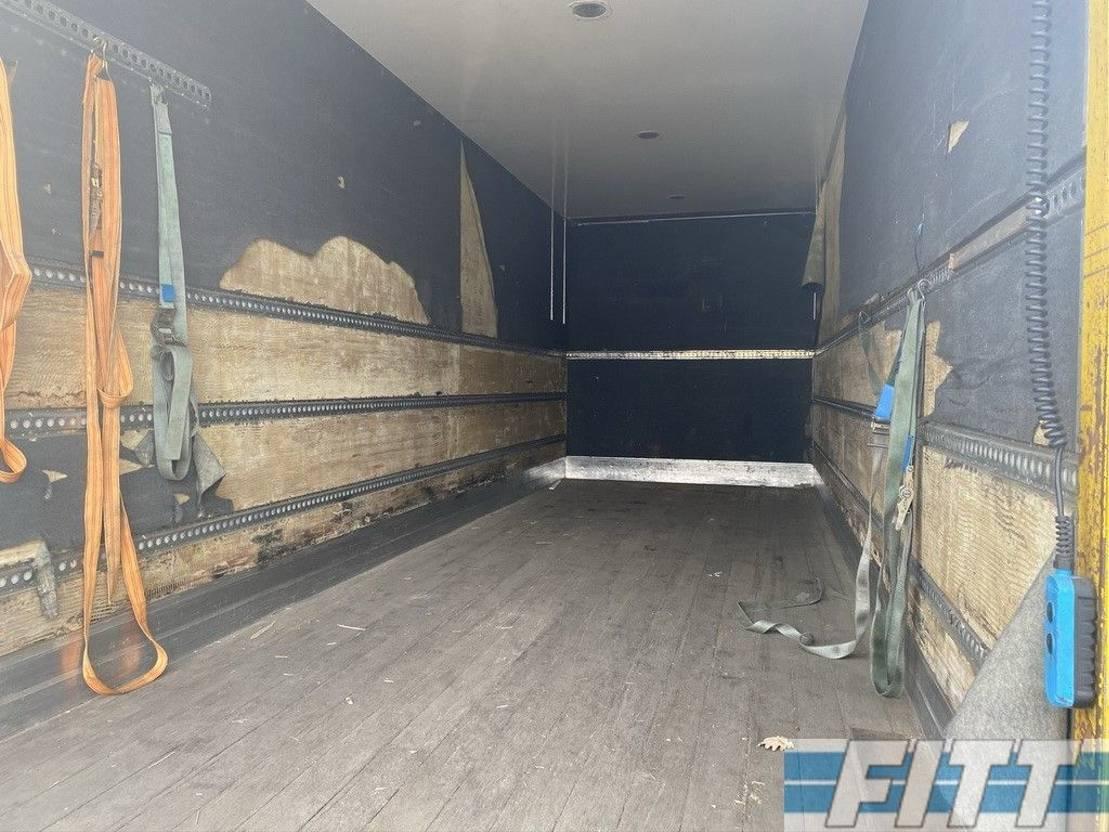 closed box truck > 7.5 t Mercedes-Benz AXOR 1824L alu gesloten laadbak, 3000 KG klep 2008