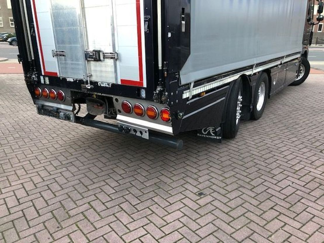 closed box truck > 7.5 t DAF *510 PK - EURO 5* FAN XF 510 - HOLLAND TRUCK - 2011
