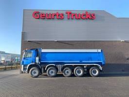 tipper truck > 7.5 t Ginaf X 5450 S 10X8 KIPPER/TIPPER 2010