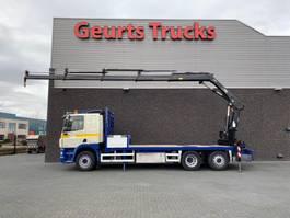 crane truck DAF CF 85.410 6X2 + HIAB KRAAN/KRAN/CRANE/GRUA 2008