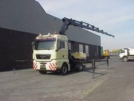 crane truck MAN TGA 18 440 4X4 +HIAB/kran/kraan/Montagekran/ 2007