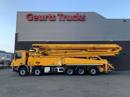 concrete pump truck Mercedes-Benz Actros 5041 10X4 + SERMAC 6 RZ 56 METER CONCREET PUMP