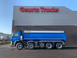 tipper truck Ginaf X 5450 S 10X8 KIPPER/TIPPER 2009