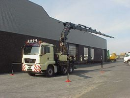 crane truck MAN TGS 26 440 6X4 kran/kraan/Montagekran/ 2009