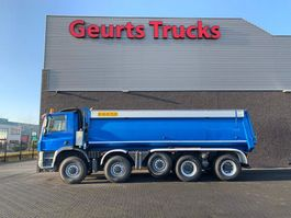 tipper truck Ginaf X 5450 S 10X8 TIPPER/KIPPER 2009