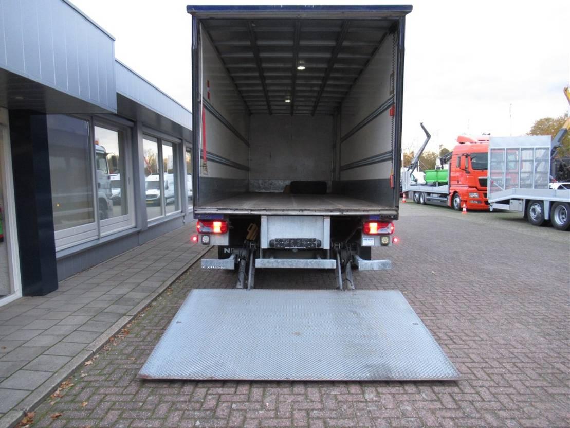 closed box truck > 7.5 t MAN TGM 18.290 4x2 Gesloten bak met klep Euro 6 2016