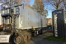 tipper semi trailer Kempf 43A60 Steel Alu Tipper 57 M3 2015