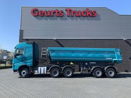 cab over engine Volvo FH 420 6X4 2 AXEL TIPPER TRAILER 2016