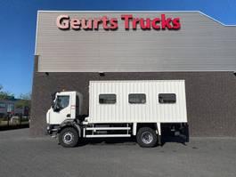 closed box truck Renault Midlum 250 4X4 PASSENGER CARRIER/TRUCK PASSENGERS 2016