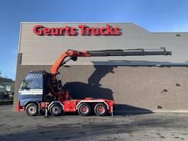 heavy duty tractorhead Volvo FH 540 8X4 TRACTOR + PALFINGER PK 60002 C kran/kraan/crane/grua