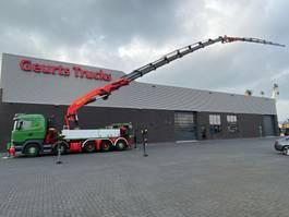 crane truck Scania R580 V8 10X4 + PALFINGER PK 200002 + JIB 200 T/M KRAAN/KRAN/CRANE/GRUA 2014