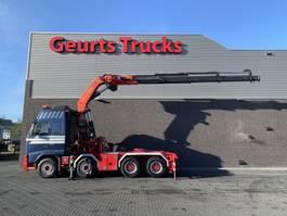 heavy duty tractorhead Volvo FH 540 8X4 + PALFINGER PK 60002 C/kran/grua/kraan/crane