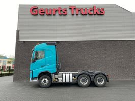 cab over engine Volvo FH 6X4 TRACTOR WITH TIPPER HYDRAILIC AND BIG AXELS 2016