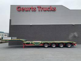 semi lowloader semi trailer Nooteboom OSD-58-04V 4 AXEL SEMIE LOWLOADER