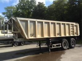 tipper semi trailer 22 M3 - STEEL SUSPENSION 2001