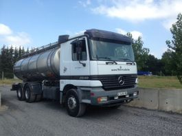 tank truck Mercedes-Benz 2640 6X4 citerne inox isotherme  16000 L 1999