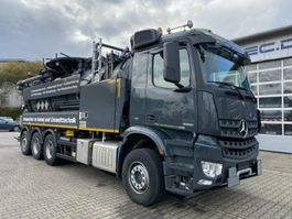 vacuum truck Mercedes-Benz Arocs 3251 Kombispüler Wiedemann 8x4 ADR/GGVS