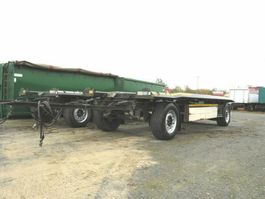 container chassis trailer Schmitz Cargobull Abrollcontainernanhänger ACF 18 Containeranhänge 2012