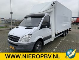 closed box lcv < 7.5 t Mercedes-Benz sprinter 519CDI bakwagen BE combi airco laadklep 2011