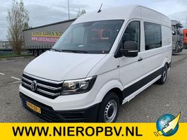 closed lcv Volkswagen crafter dubcab automaat l3h2 airco navi nieuw 2020