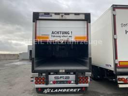refrigerated semi trailer LAMBERET Cityliner- 2x hydr. Lenkachs.-Rolltor-2x Trennw. 2016