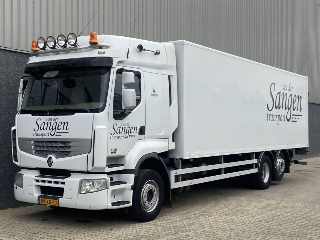 closed box truck > 7.5 t Renault PREMIUM 370 / Euro5 / 6X2 / Laadklep / NL Truck / 8,5 mtr laadbak 2009