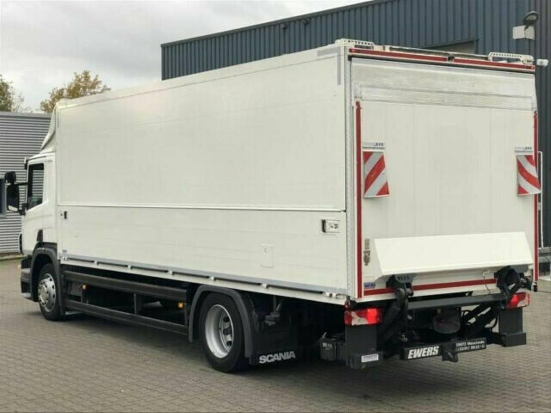 closed box truck > 7.5 t Scania P 280 / E6 / LBW 2,0 T / 2 x AHK / KAMERA / NAVI