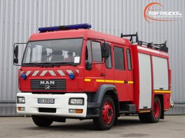 fire truck MAN L75 14.280 Doppelcabine - 3.000 ltr watertank - Feuerwehr, Fire brigade 2005