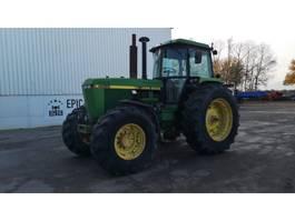 farm tractor John Deere 4055 1990