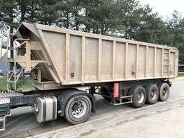 tipper semi trailer Benalu 30m³ - Fruehauf Benne -  3-ESS. SMB - LAMES - alu / alu - bonne etat condition - 3-axles SMB - STEEL SPRING - GOOD CONDITION 2000