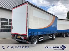 sliding curtain trailer Burg 2-Assige AHW / Schuifzeil / Aluminium borden / Topconditie 2012