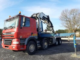 crane truck DAF CF85.430 8X4 + CORMACH 65 TONS WITH JIB+WINCH 2005