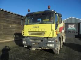 concrete mixer truck Iveco TRAKKER 360 !!!ENGINE DAMAGE - MOTOR DEFECT!!! ( EURO 5 - MANUAL GEARBOX - 9M3 IMER MIXER) 2008