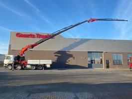 crane truck Scania R490 8X4 + PALFINGER PK 150002 G + JIB KRAAN/KRAN/CRANE/GRUA 2015