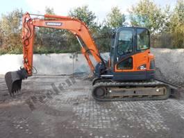 crawler excavator Doosan DX 80 R 2012
